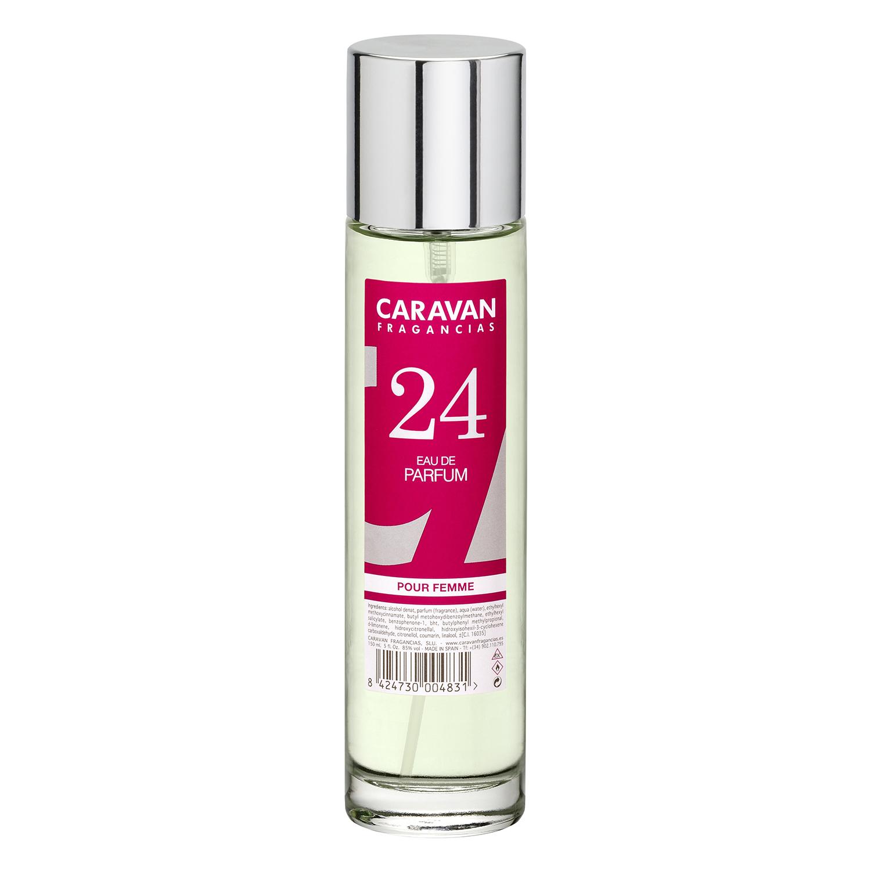 Agua de colonia nº 24 Floral- afrutado para mujer Caravan 150 ml.