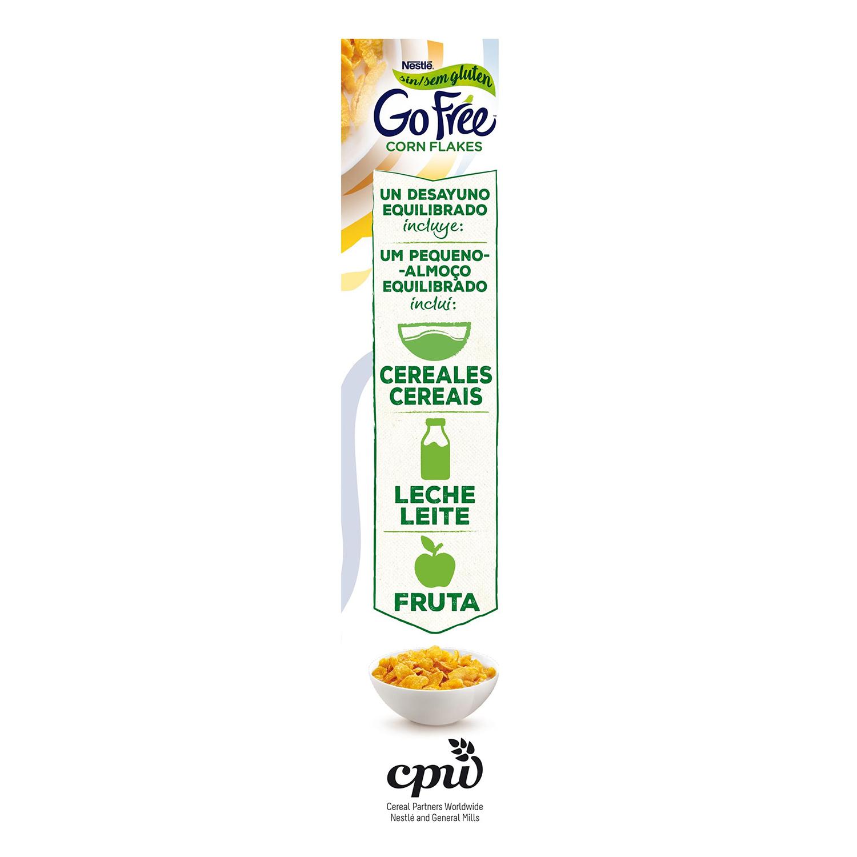 Cereales de maíz Corn Flakes Nestlé sin gluten 375 g. - 3