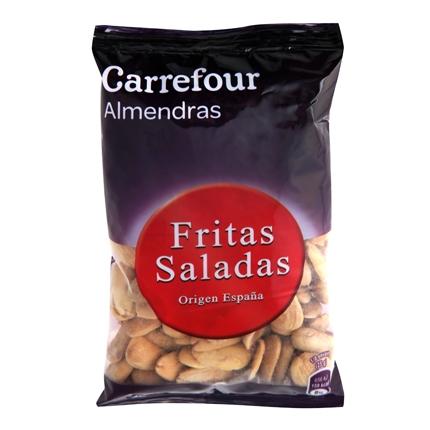 Almendras fritas y saladas Carrefour 200 g.