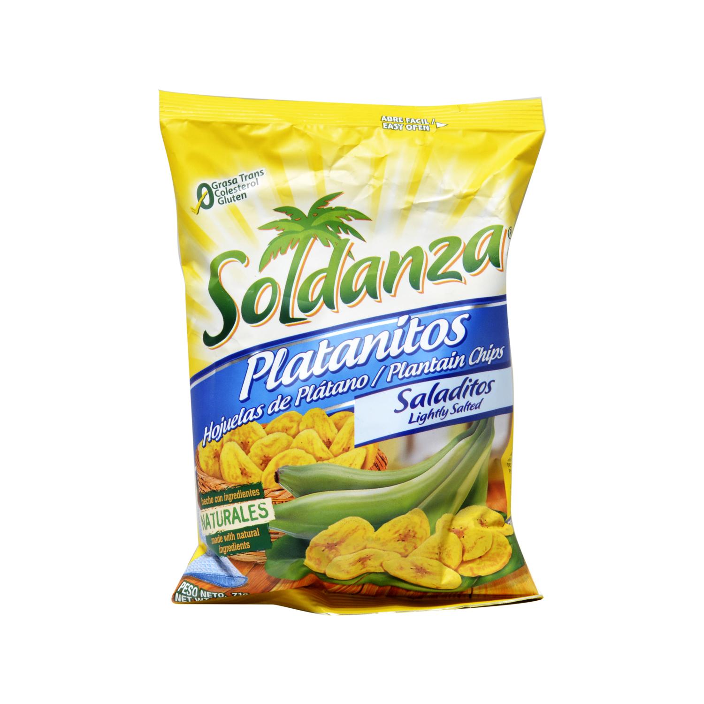 Snacks platanitos salados
