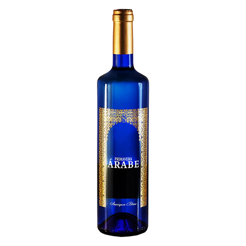 Vino blanco sauvignon Árabe 75 cl.
