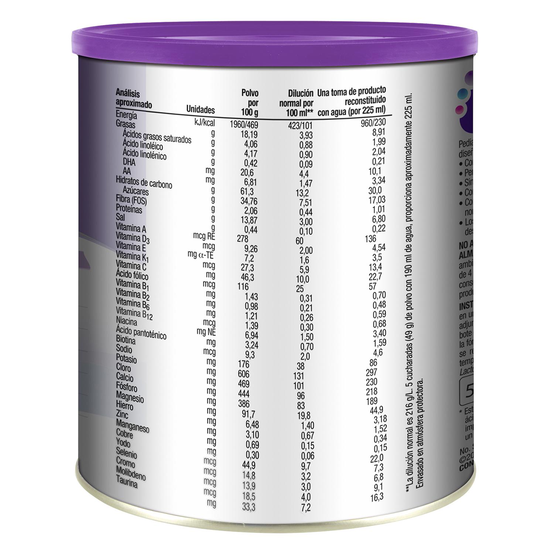 Complemento alimenticio de vainilla en polvo Pediasure 400 g. -
