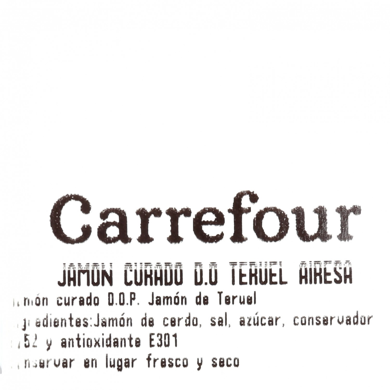 Jamón curado D.O. Teruel Airesano al corte 100 g aprox - 4
