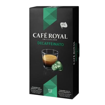 Café descaffeinato en cápsulas compatible con Nespresso