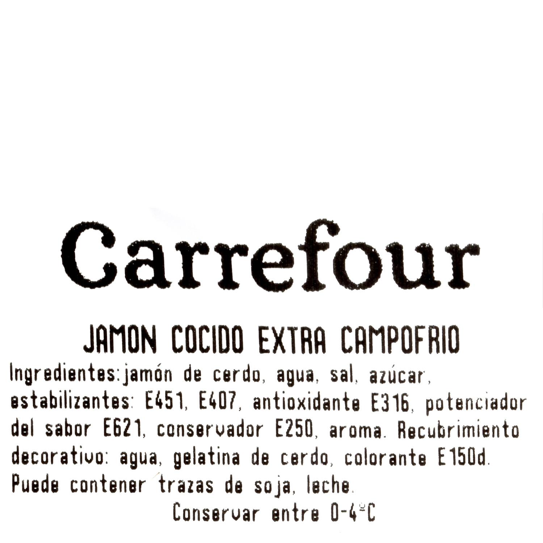 Jamón cocido extra Campofrío al corte 150 g aprox - 3