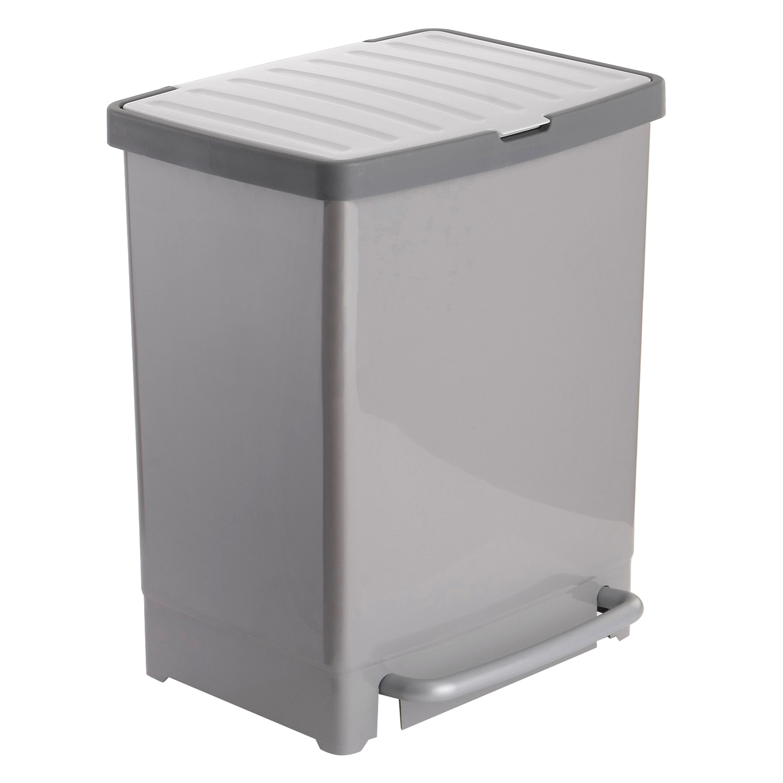 cubo de basura reciclaje 17 8 litros carrefour