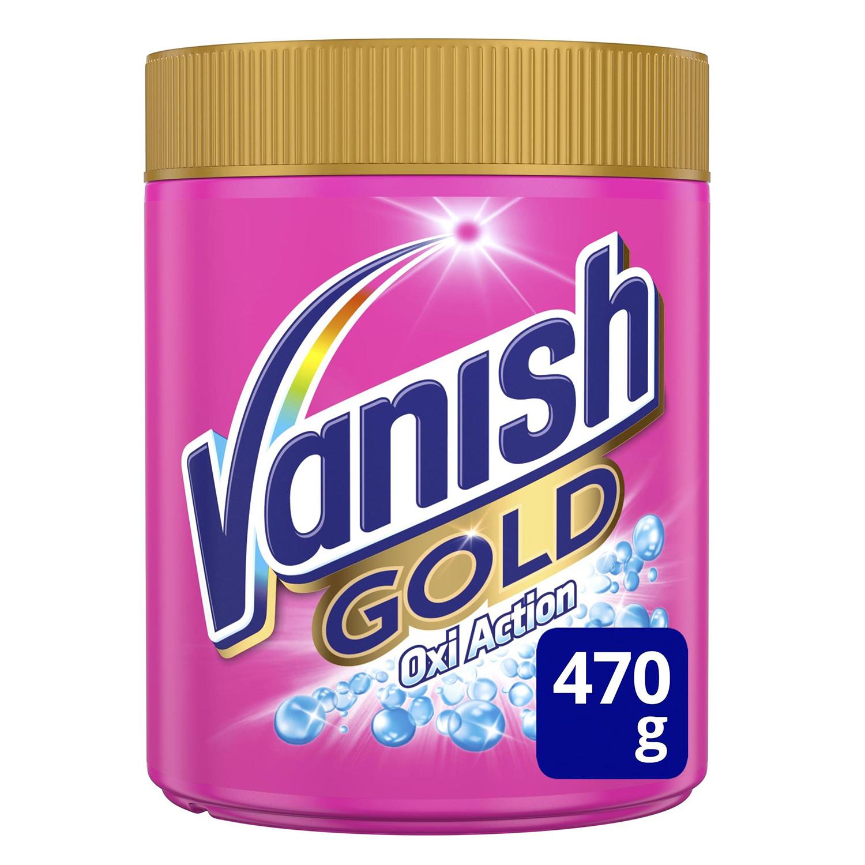 Quitamanchas en polvo Gold Vanish OxiAction 470 g.