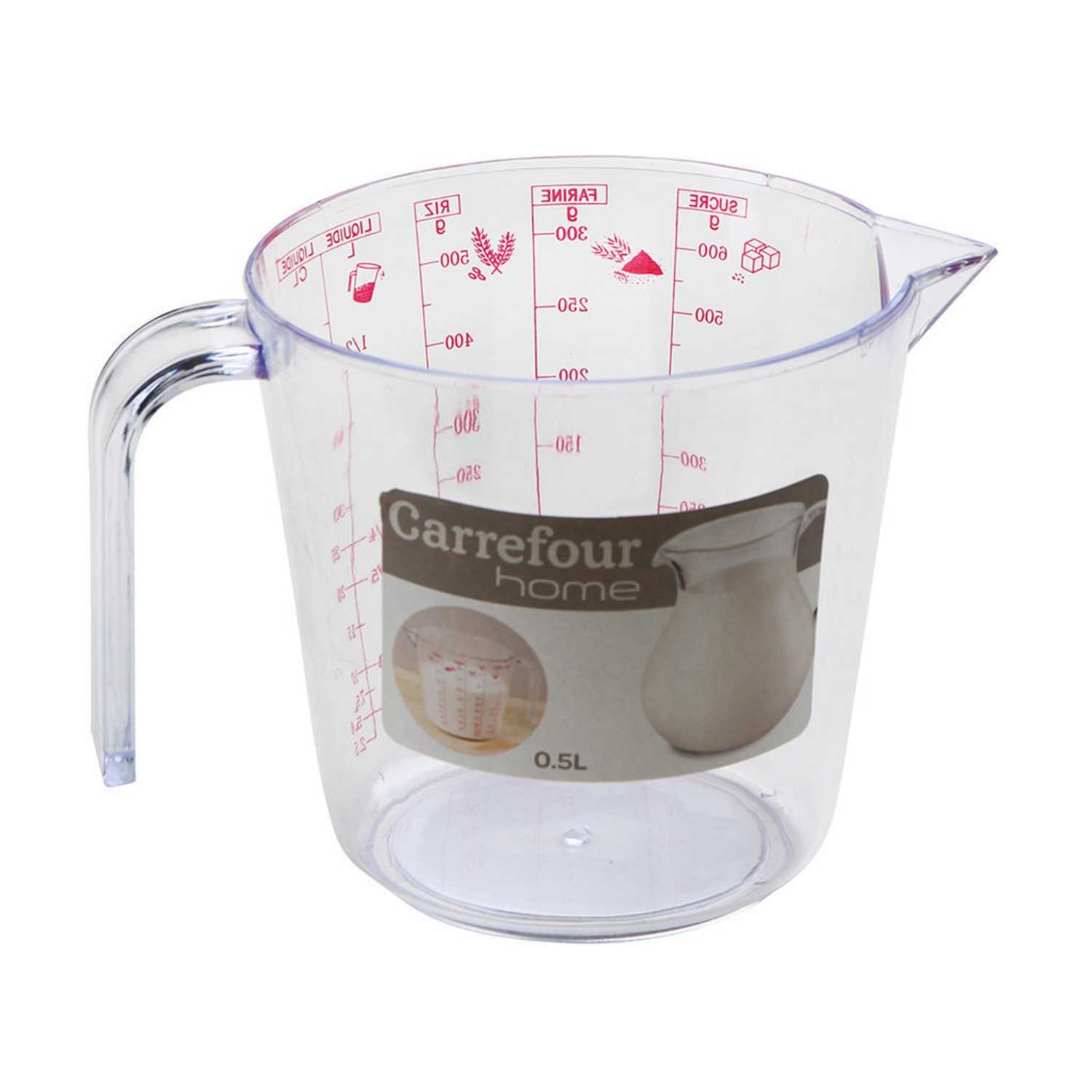 Jarra medidora  CARREFOUR HOME Specifique 0,5 L -