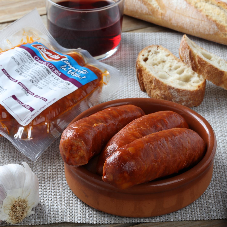 Chorizo asturiano a la sidra Cárnicas La Pilaríca pieza 250 g -