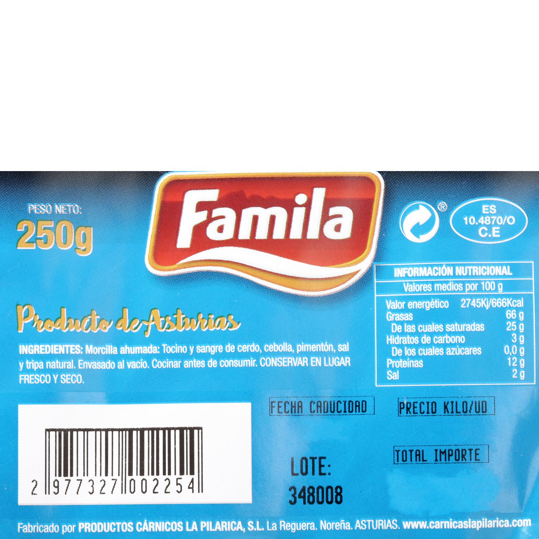 Morcilla Asturiana La Pilarica 250 g - 3