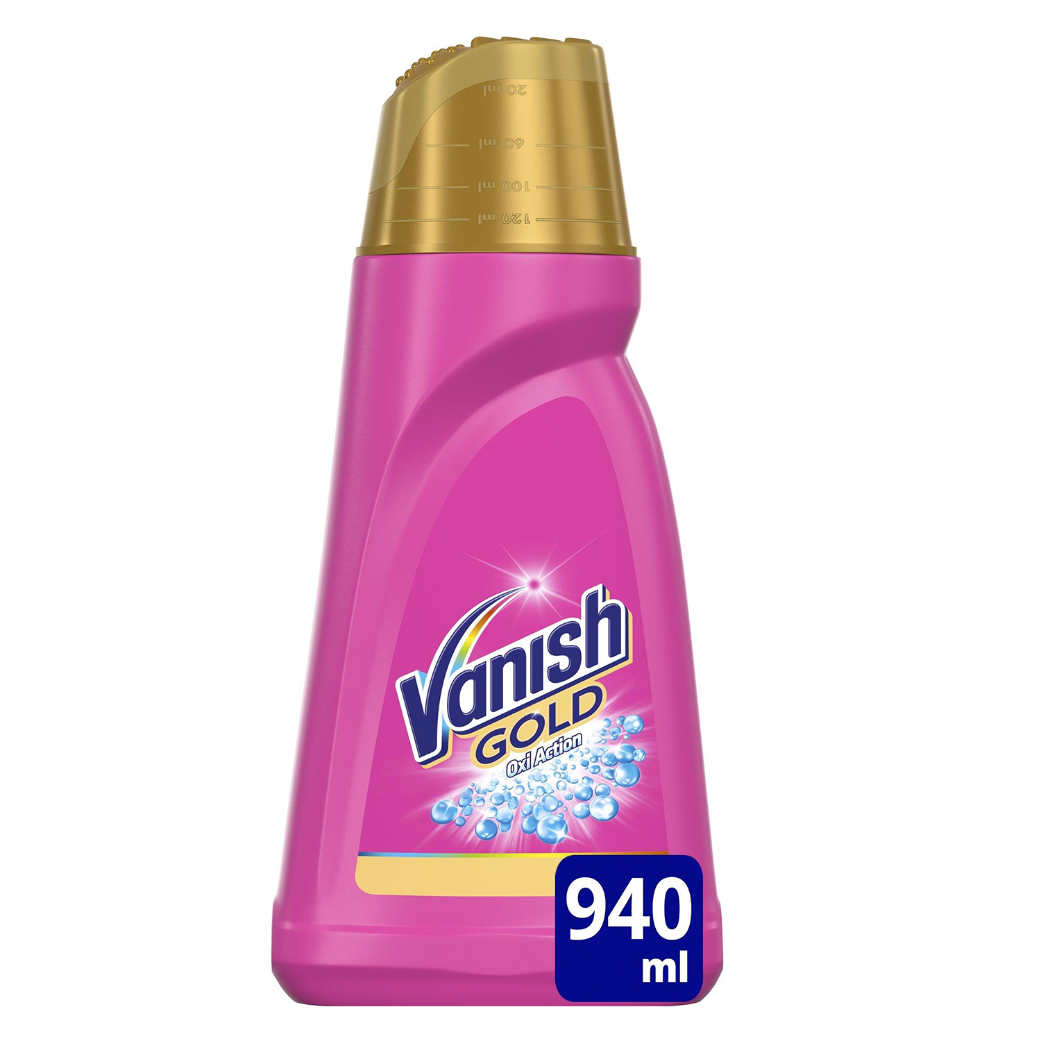 Quitamanchas en gel Gold Vanish OxiAction 940 ml.