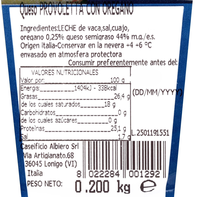 Queso provoletta con oregáno Montorso 200 g - 3