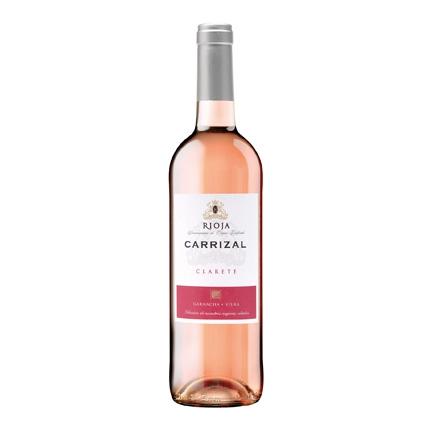 Vino D.O. Rioja rosado Clarete Carrizal 75 cl.