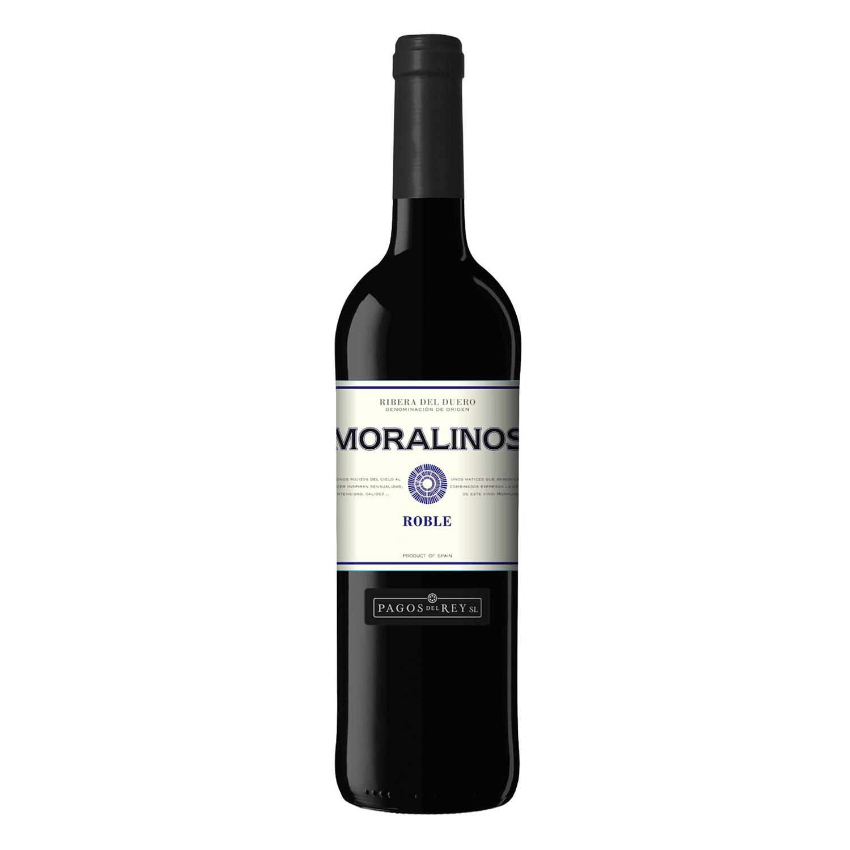 Vino D.O. Ribera del Duero tinto roble Moralinos 75 cl.