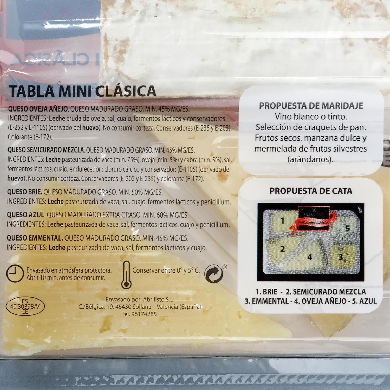 Tabla queso clásica - 2