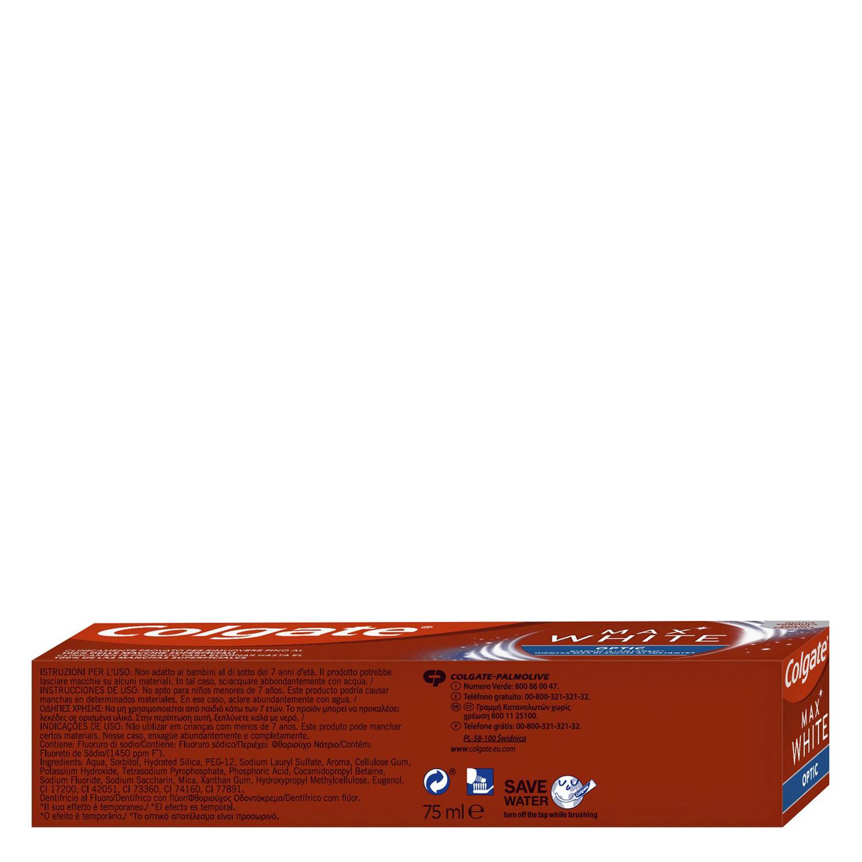 Dentífrico Max White One Colgate 75 ml. -