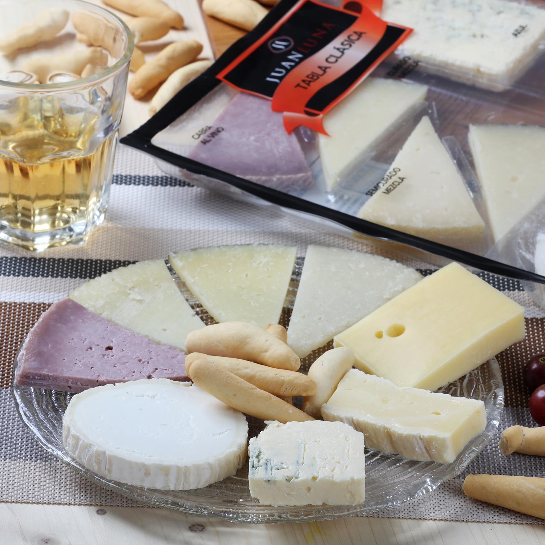 Tabla clásica de quesos -