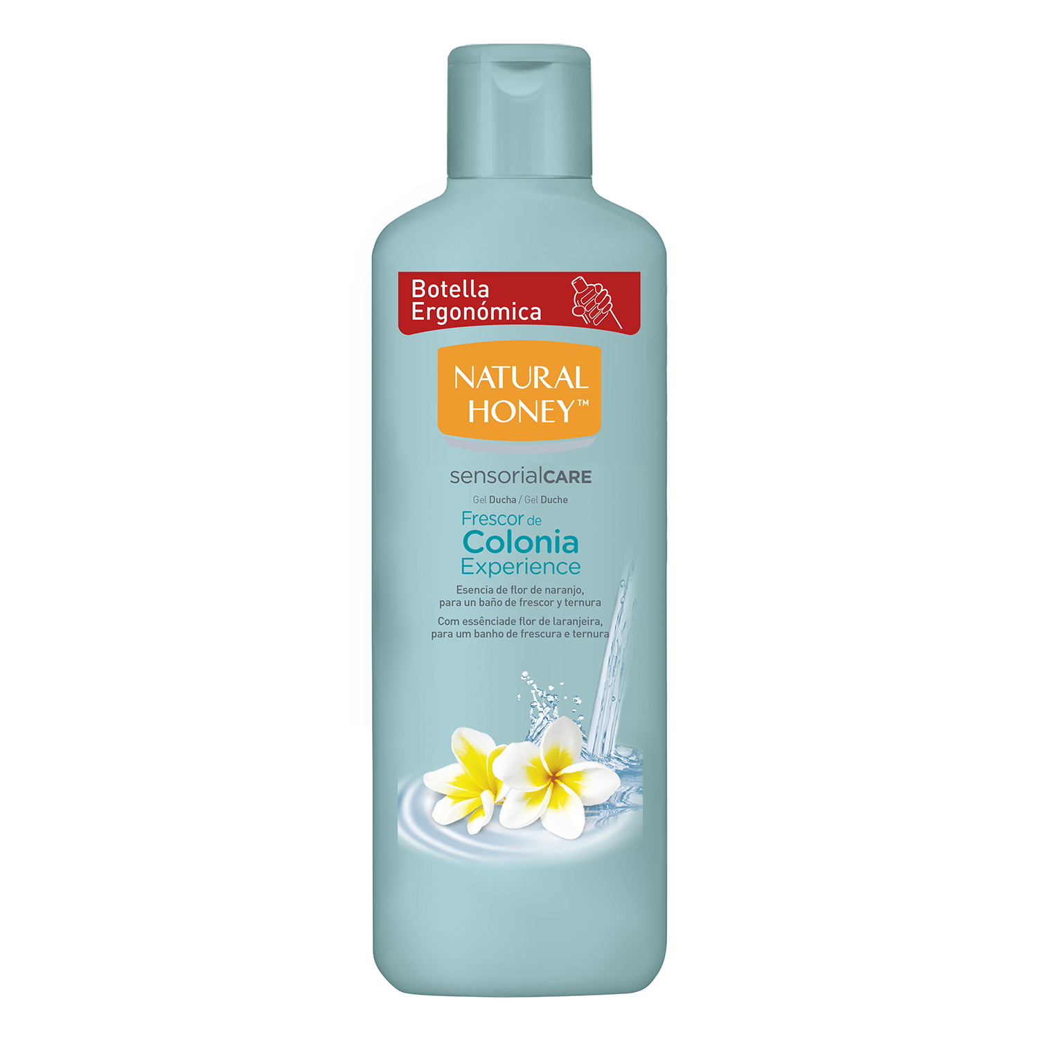 Gel de baño Frescor de Colonia Natural Honey 650 ml.
