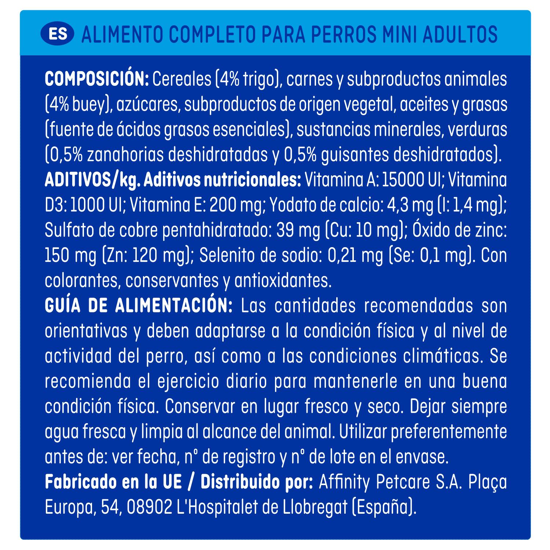 Alimento Perro Seco Mini Tenderissimo - 3