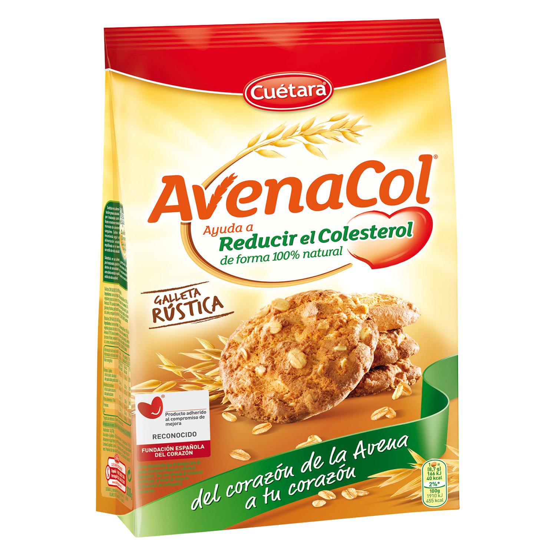Galletas con avena Avenacol Cuétara 300 g.