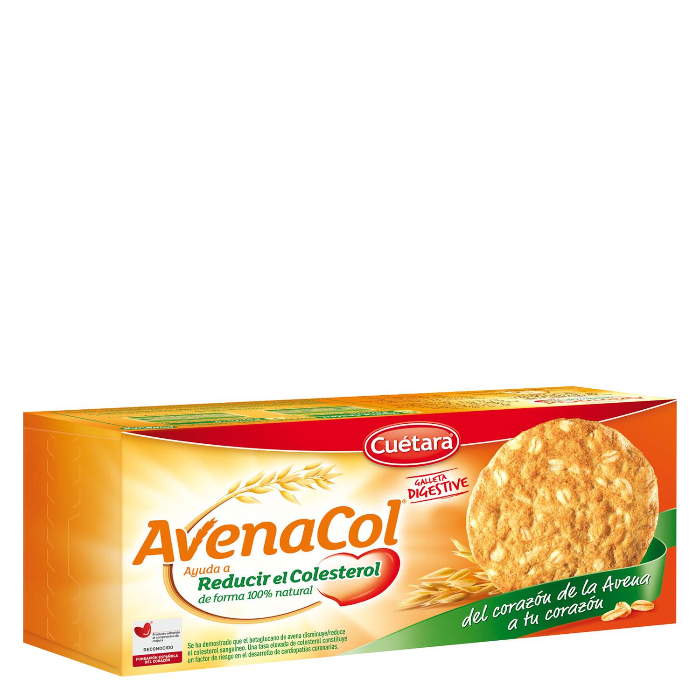 Galletas con avena Digestive  Avenacol Cuétara 300 g.