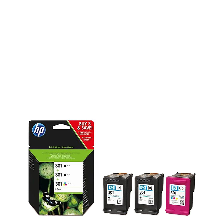 Multipack Cartuchos de Tinta HP 301 - Negro/Tricolor -