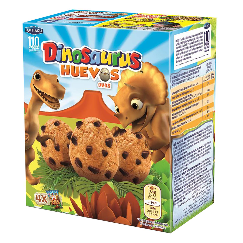 Galletas Dinosaurus Huevo Artiach 140 g.