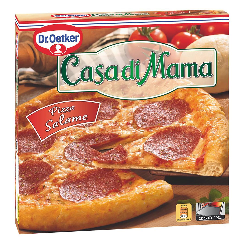 Pizza de Salami Dr. Oetker - Casa di Mama 390 g.