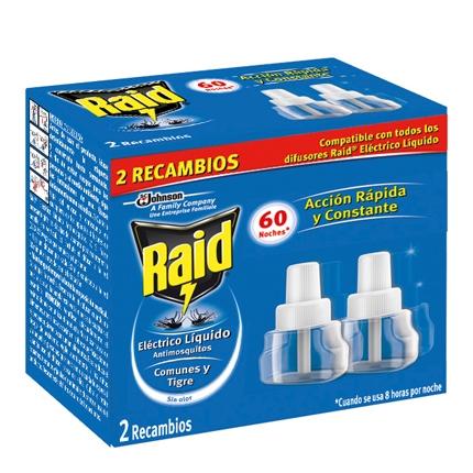 Insecticida eléctrico líquido antimosquitos 60 noches