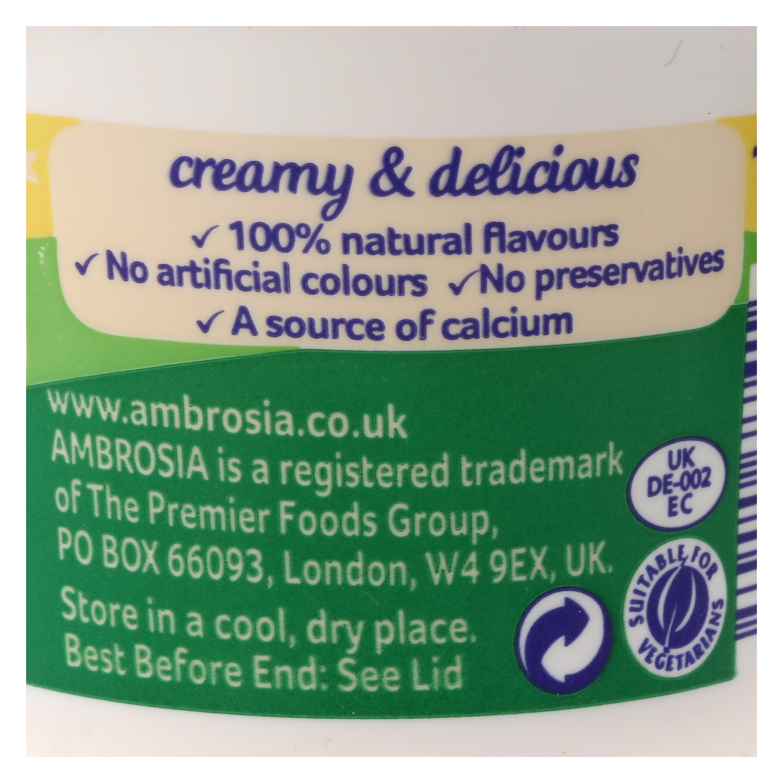 Crema Devon custard -