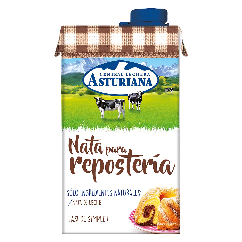 Nata para repostería Central Lechera Asturiana 500 ml.