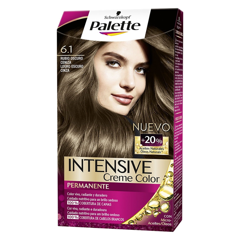 Tinte Intensive Creme Coloration 6.1 Rubio Oscuro Ceniza