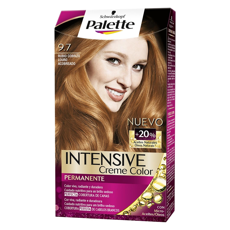 Tinte Intensive Creme Coloration 9.7 Rubio Cobrizo Palette 1 ud.