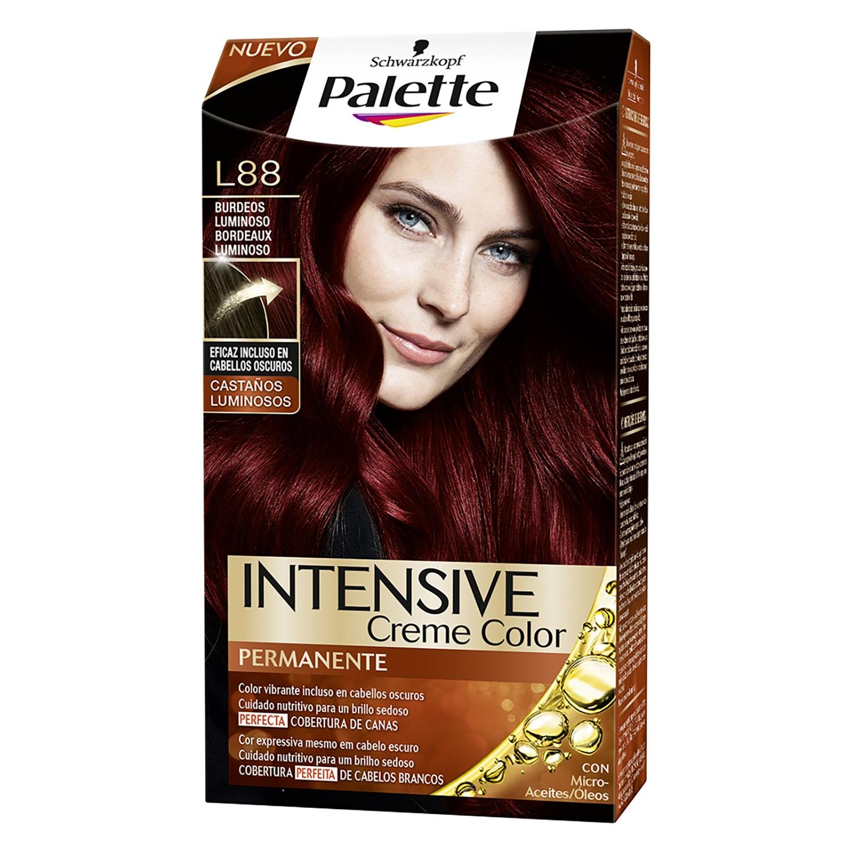 Tinte Intensive Creme Coloration L88 Burdeos Luminoso