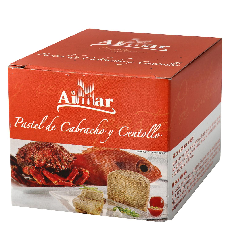 Pastel de cabracho y centollo Aimar 230 g.