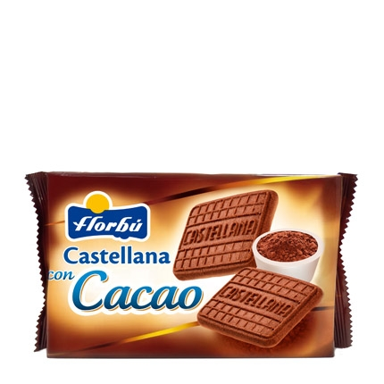 Galleta castellana con cacao
