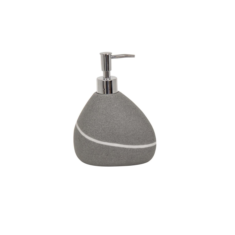 Dosificador de baño de la gama Zen 8cm MSV - Gris