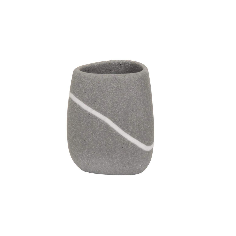 Vaso de lavabo de la gama Zen 12,7cm  Gris