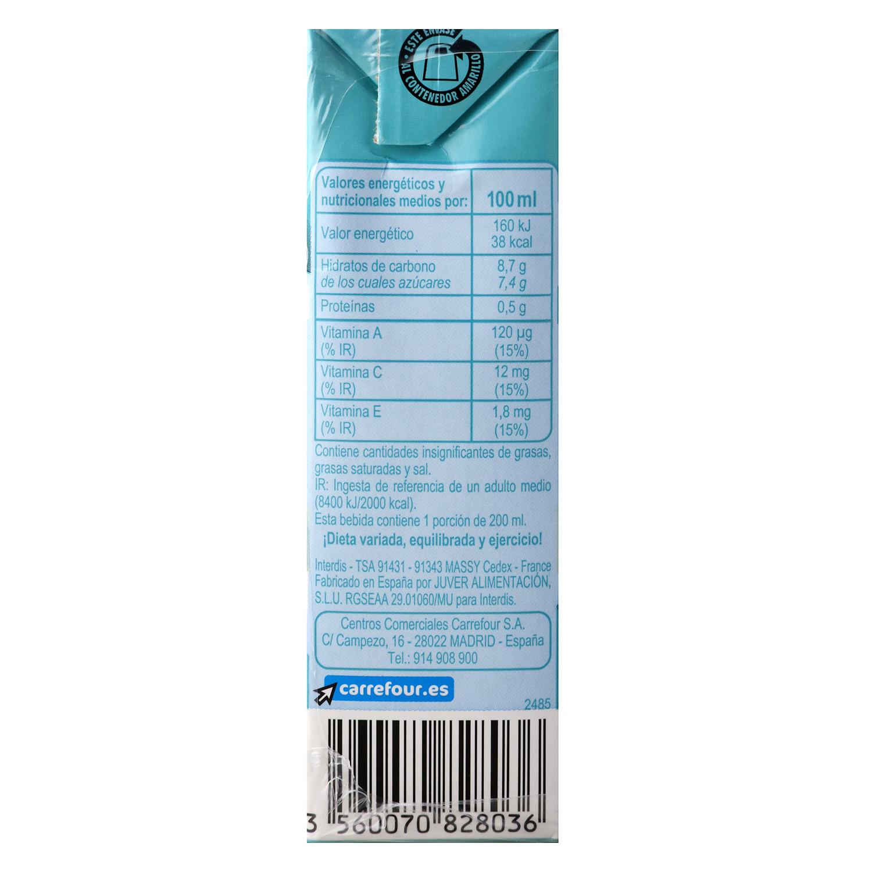 Zumo de frutas y leche Carrefour sabor mediterráneo pack de 6 briks de 20 cl. -