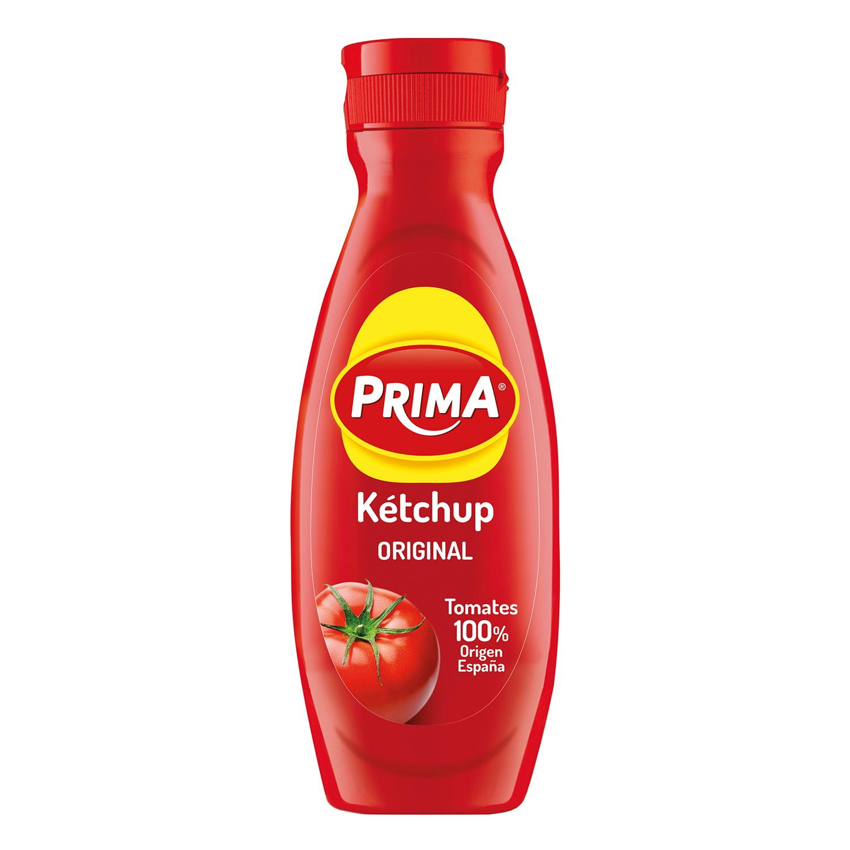 Ketchup Prima envase 600 g.