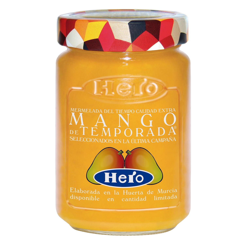Mermelada de mango de temporada Hero 350 g.
