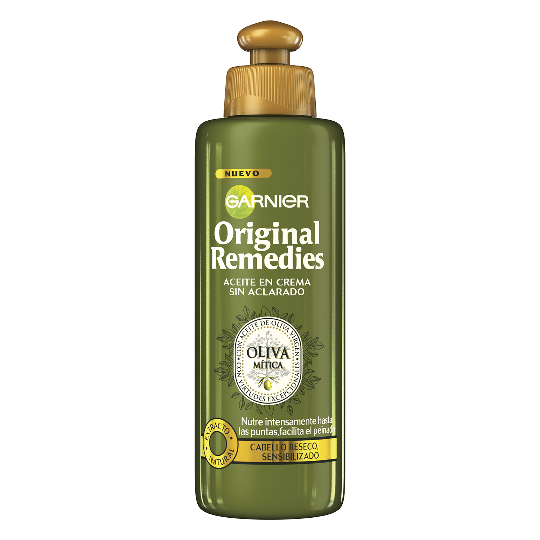 Aceite en crema sin aclarado Oliva Mítica Original Remedies 200 ml.