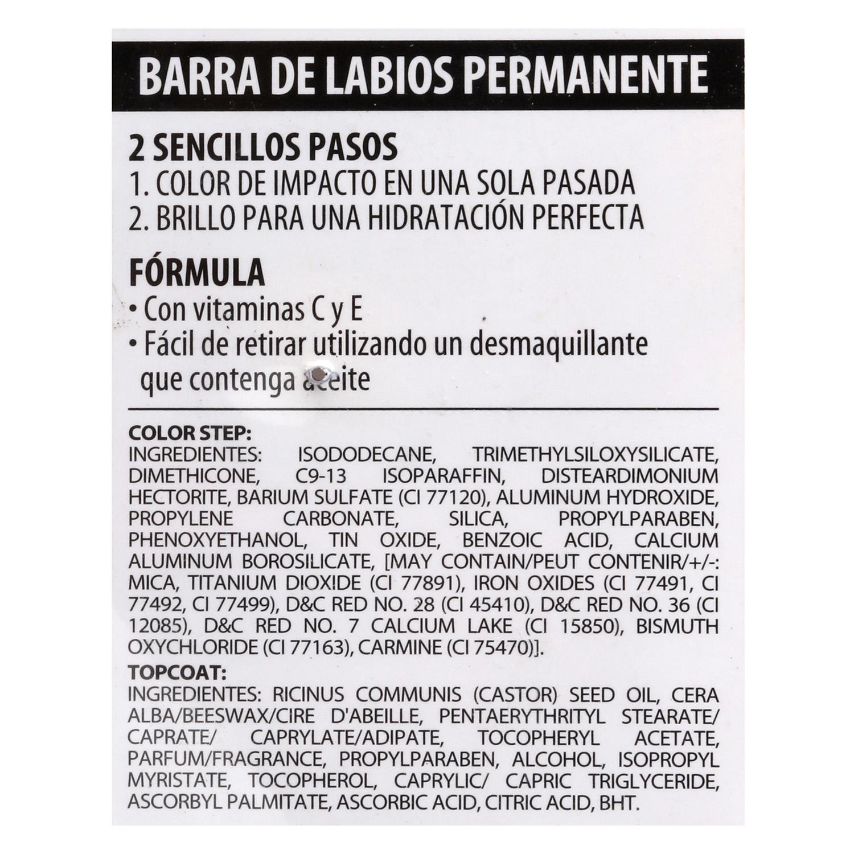 Barra de labios permanente perfect stay nº205 -
