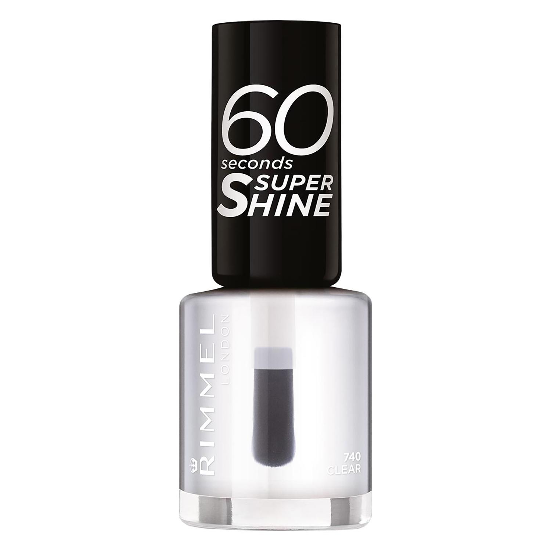 Laca de uñas 60 seconds super shine nº 740 Clear Rimmel 1 ud.