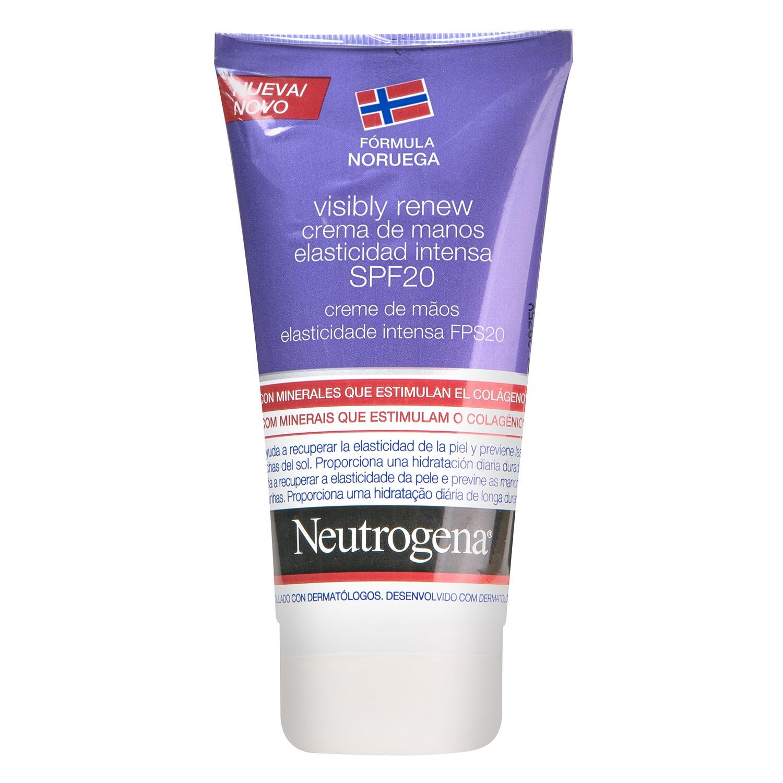 Crema de manos elasticidad intensa Neutrogena 75 ml.