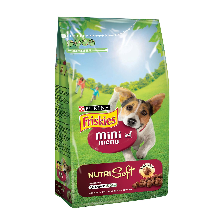 Comida para perros Mini Menu Nutri Soft con Buey