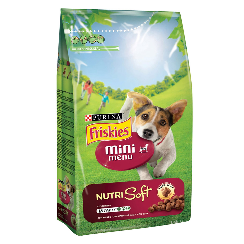 Comida para perros Mini Menu Nutri Soft con Buey -