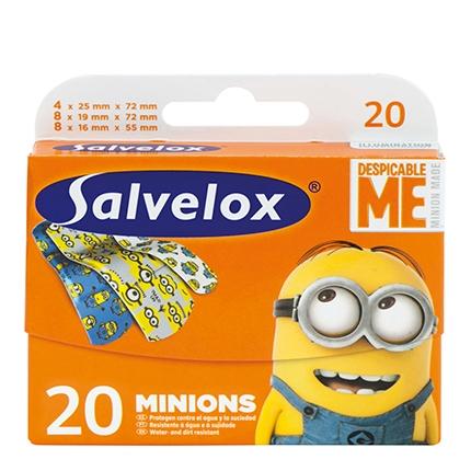 Apósitos niños Minions Salvelox 20 ud.