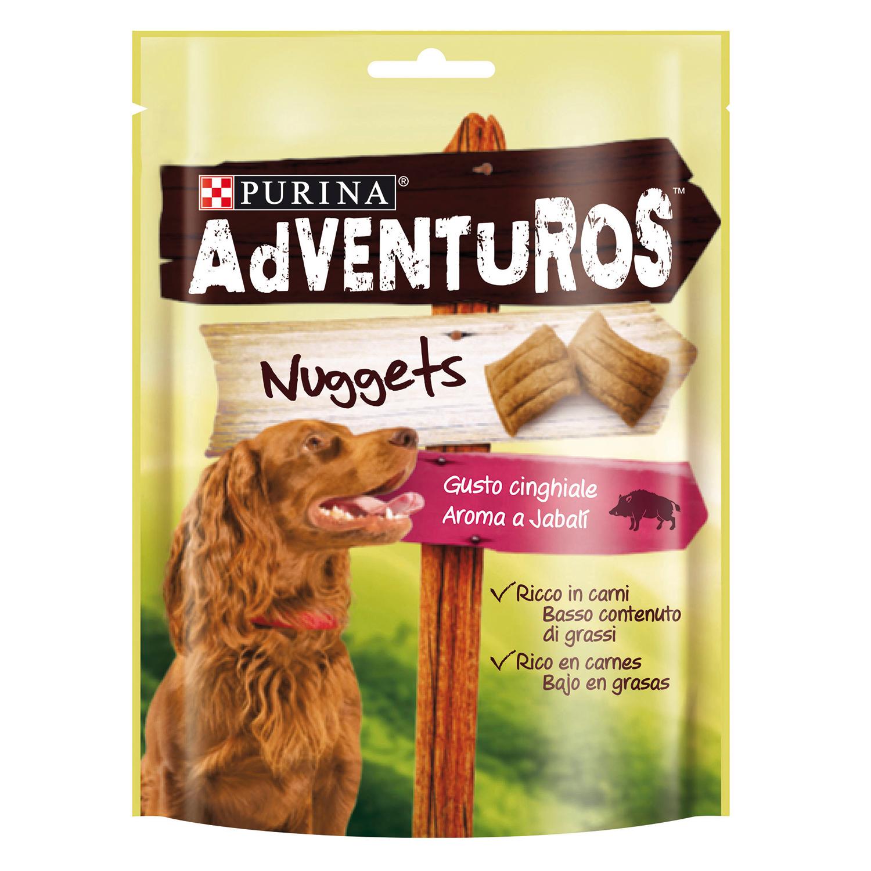 Purina Adventuros Snacks para Perros Nuggets 90g