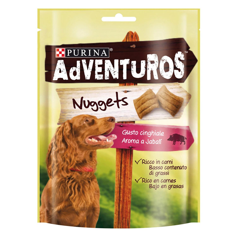 Purina Adventuros Snacks para Perros Nuggets 90g -